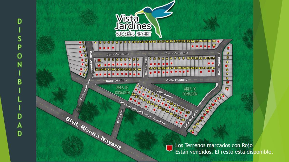 Foto Otro en Bucerías Centro 23 FRACCIONAMIENTO VISTA JARDINES TERRENOS número 5