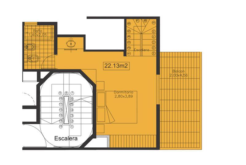 Foto Edificio en Nueva Cordoba Las Lengas- Obispo Salguero 543 número 15