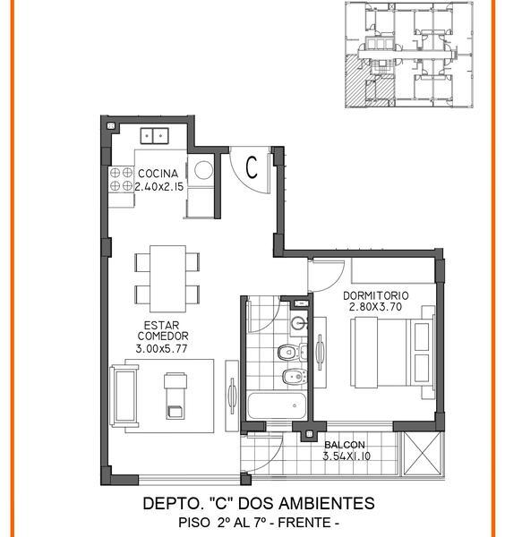 Foto Edificio en Moron Sur Mariano Moreno 700 número 16