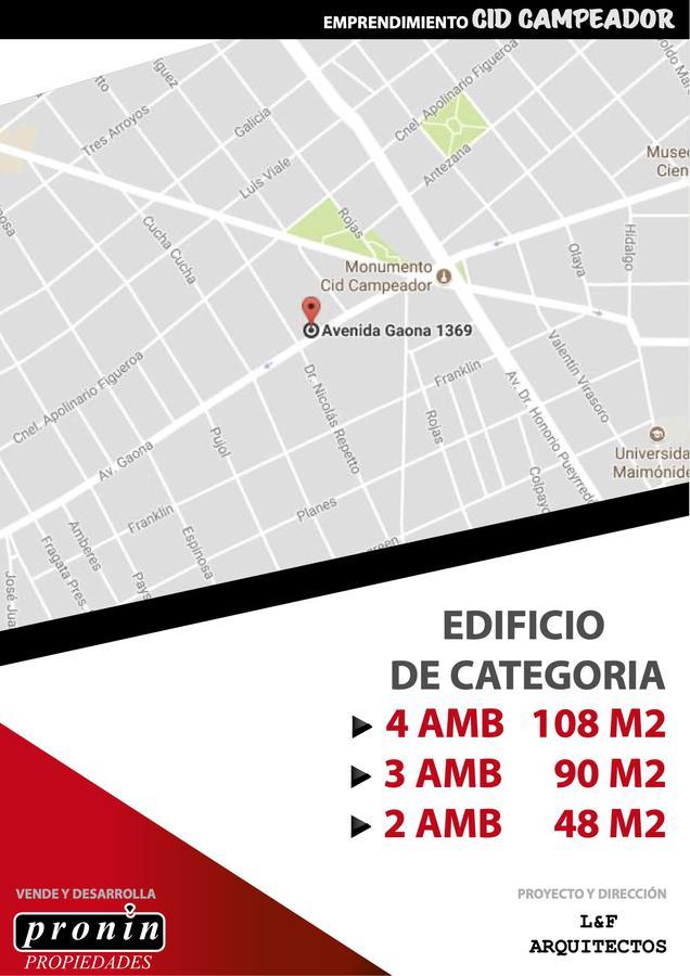 Foto Edificio en Cid Campeador Gaona 1369 número 9