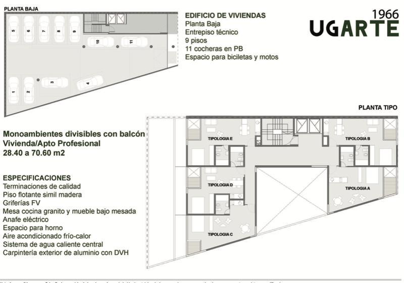 Foto Edificio en Belgrano Ugarte 1966 número 5