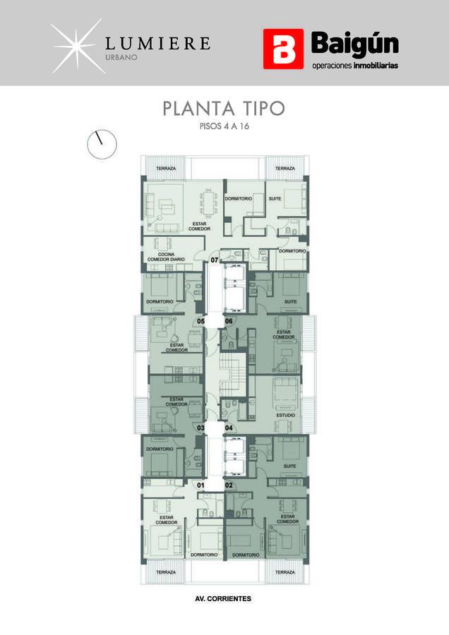 Foto Edificio en Almagro AV. CORRIENTES Y JERÓNIMO SALGUERO  numero 8