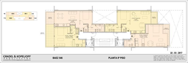 Foto Edificio en Las Cañitas BAEZ 546 número 8