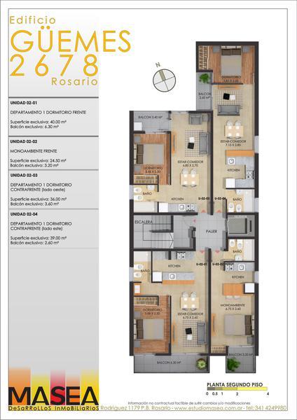 Foto Edificio en Pichincha Guemes 2678 número 6
