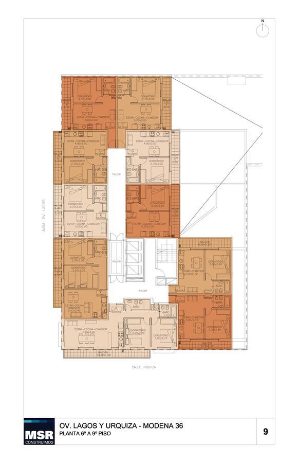 Foto Edificio en Pichincha URQUIZA 2792 número 13