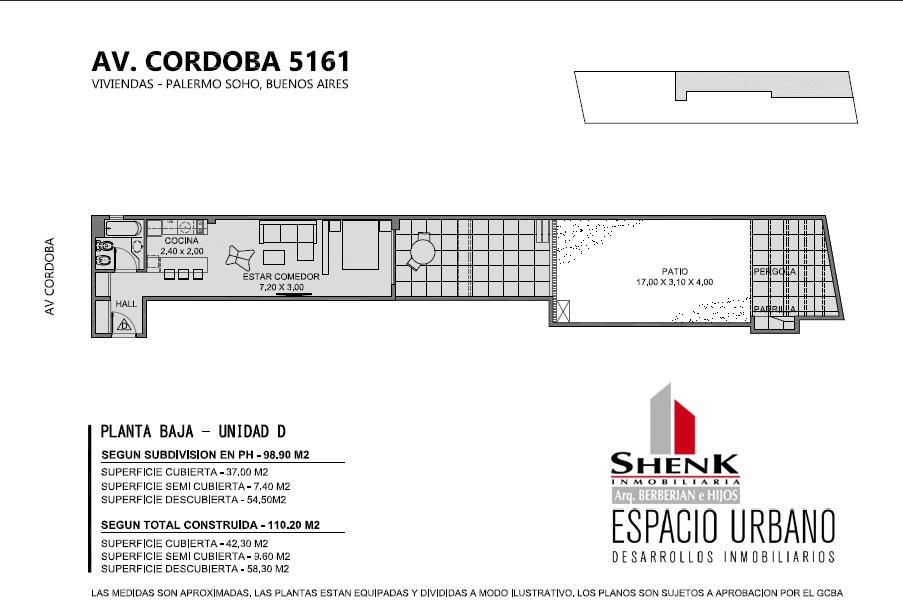 Foto Edificio en Palermo CORDOBA 5100 número 6
