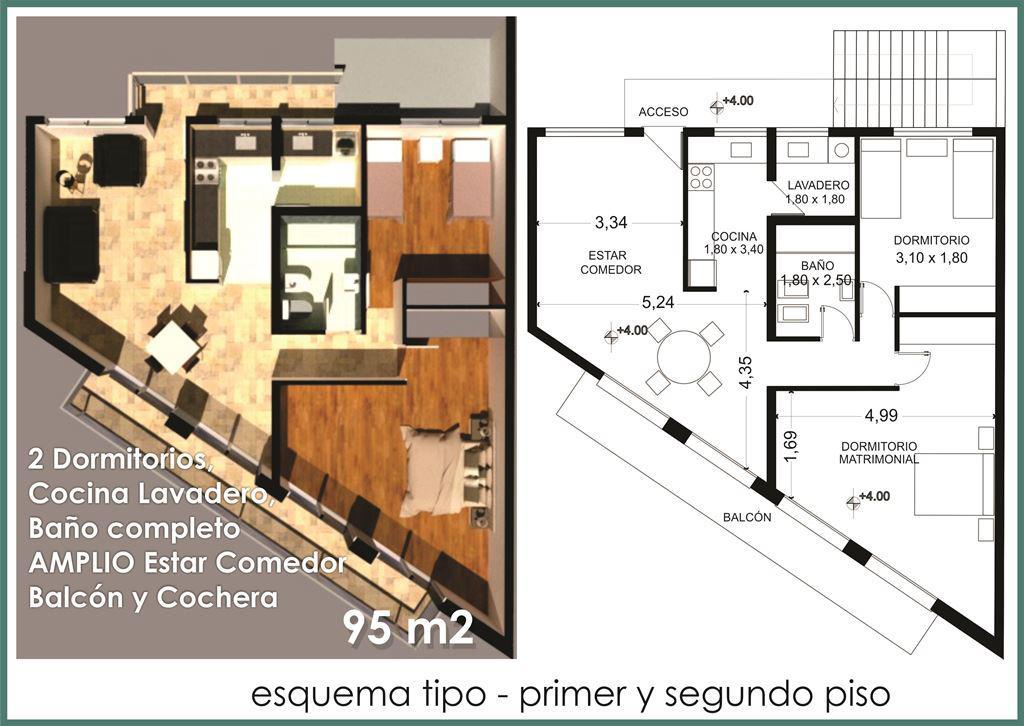Foto Edificio en Santa Lucia Avda. Sarmiento 3100 Este santa Lucia número 12