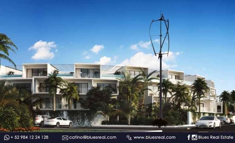 Unit picture Apartment in Sale in  Tulum ,  Quintana Roo  NEW Condo Central Park Lagunas at Tulum | Blues Real | Code 644