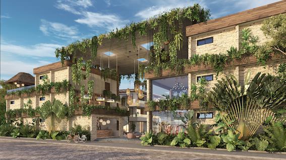 Foto Condominio en Ejido Tulum nuevo condominio de lujo con entrega inmediata número 8