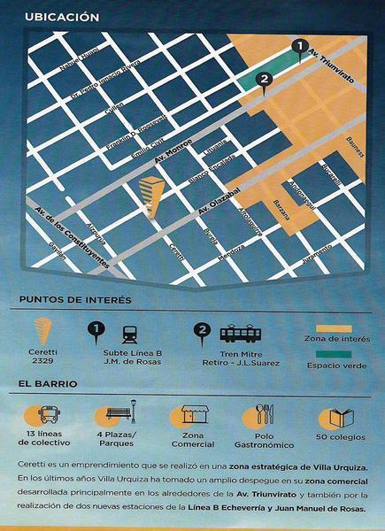 Foto Edificio en Villa Urquiza Ceretti 2300 número 4