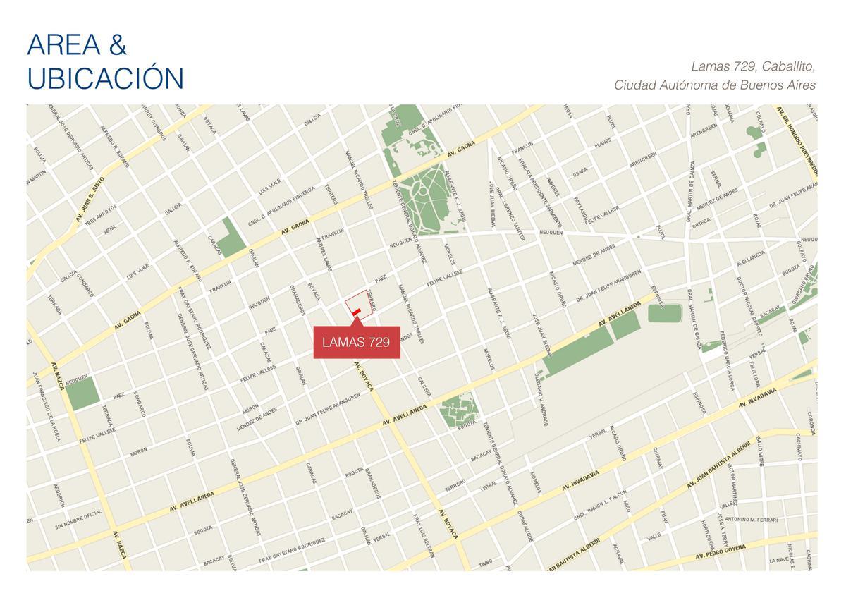 Foto Departamento en Venta en  Caballito ,  Capital Federal  Andres Lamas 700 - U202