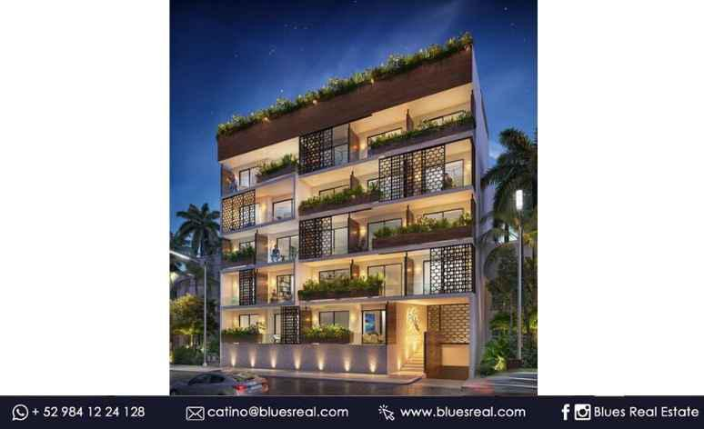 Unit picture Apartment in Sale in  Playa del Carmen,  Solidaridad  Apartaments for sale in Bahay - Code543