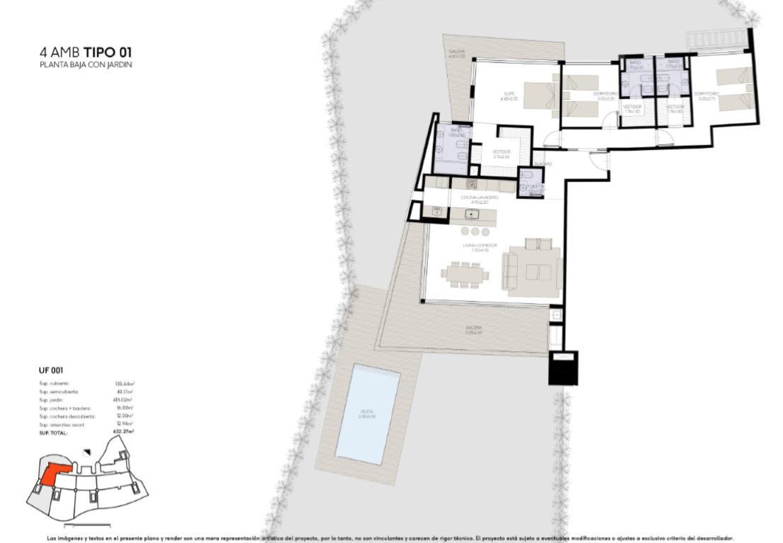 Foto Edificio en Yoo Nordelta YOO3 by ACQUA Excelencia en diseño y confort número 23