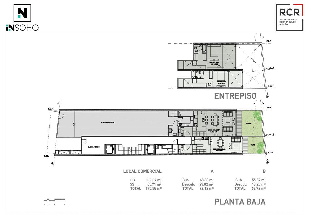 Foto Departamento en Venta en  Palermo Soho,  Palermo  SCALABRINI ORTIZ y EL SALVADOR - INSOHO