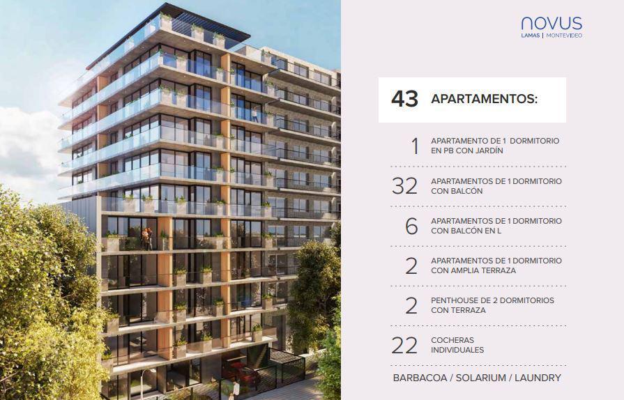 Foto Edificio en Pocitos Apartamentos  de 1 y 2 dormitorios, Lanzamiento en Pocitos número 5