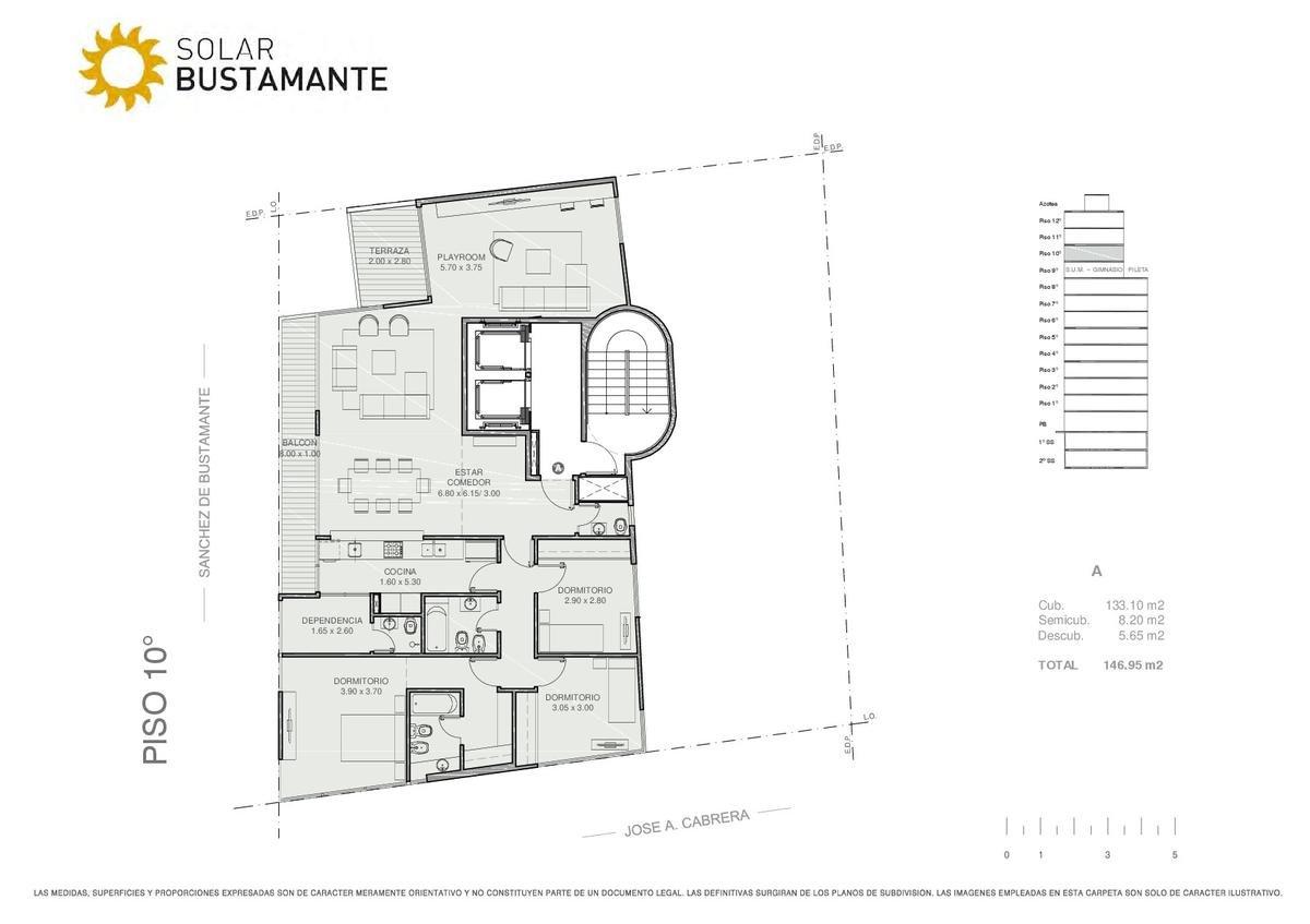 Foto Edificio en Palermo J. A. Cabrera y S. de Bustamante número 10