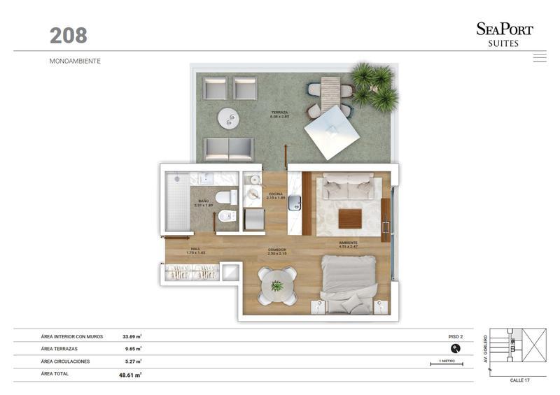 Foto Edificio en Península GORLERO ENTRE 17 Y 19 numero 15
