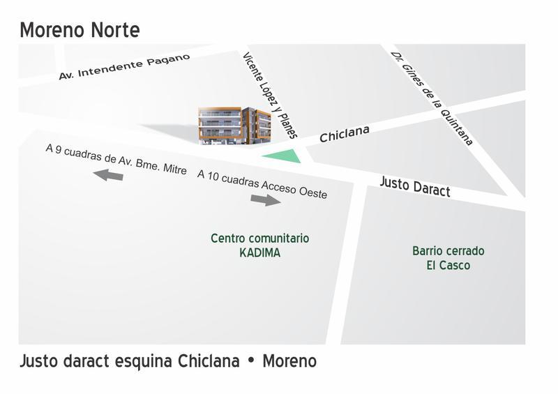 Foto unidad Departamento en Venta en  Centro (Moreno),  Moreno  Altos de Daract - Dpto. Nº 3 de 2º Piso - Moreno norte - Departamento