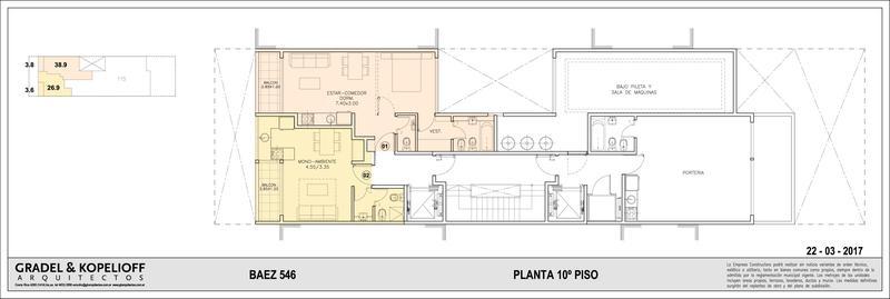 Foto Edificio en Las Cañitas BAEZ 546 número 6