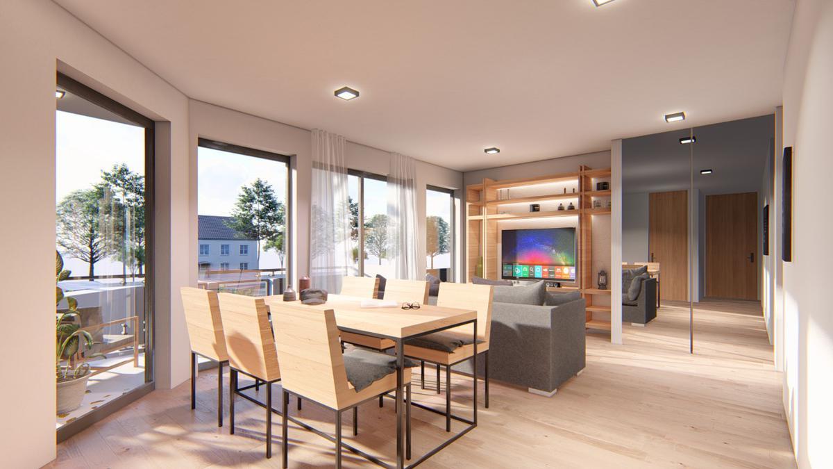 Exclusivo edificio de 4 plantas, 8 unidades de vivienda en Victoria, Punta Chica-5