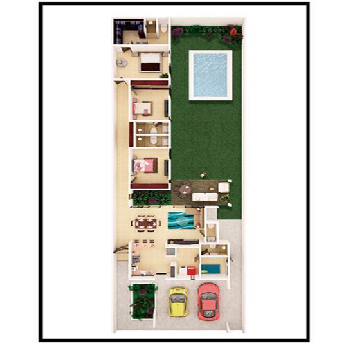 Foto Condominio en Pueblo Cholul Casas en Magnolia Residencial desde 2 MDP número 4