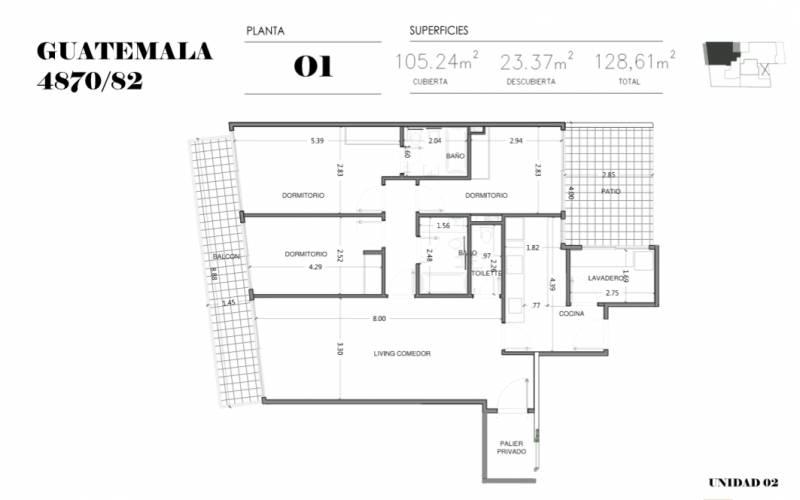 Foto Edificio en Palermo Soho GUATEMALA  4780 número 9