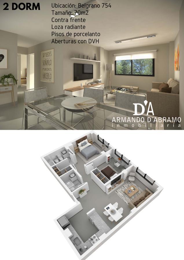 Foto Departamento en Venta en  Capital ,  Neuquen  BELGRANO 754 1 Dormitorio 42m2