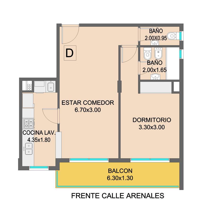 Foto Edificio en Chauvin Arenales 2861 número 11