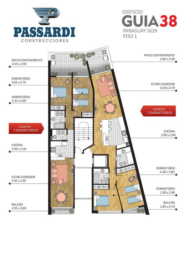 Foto Edificio en Centro PARAGUAY 1639 número 6