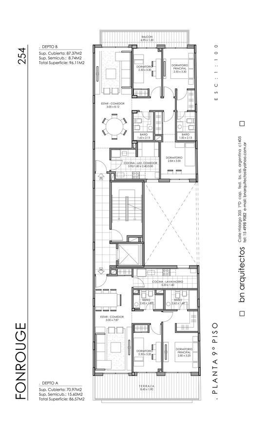 Foto Edificio en Liniers Fonrouge 254 número 2