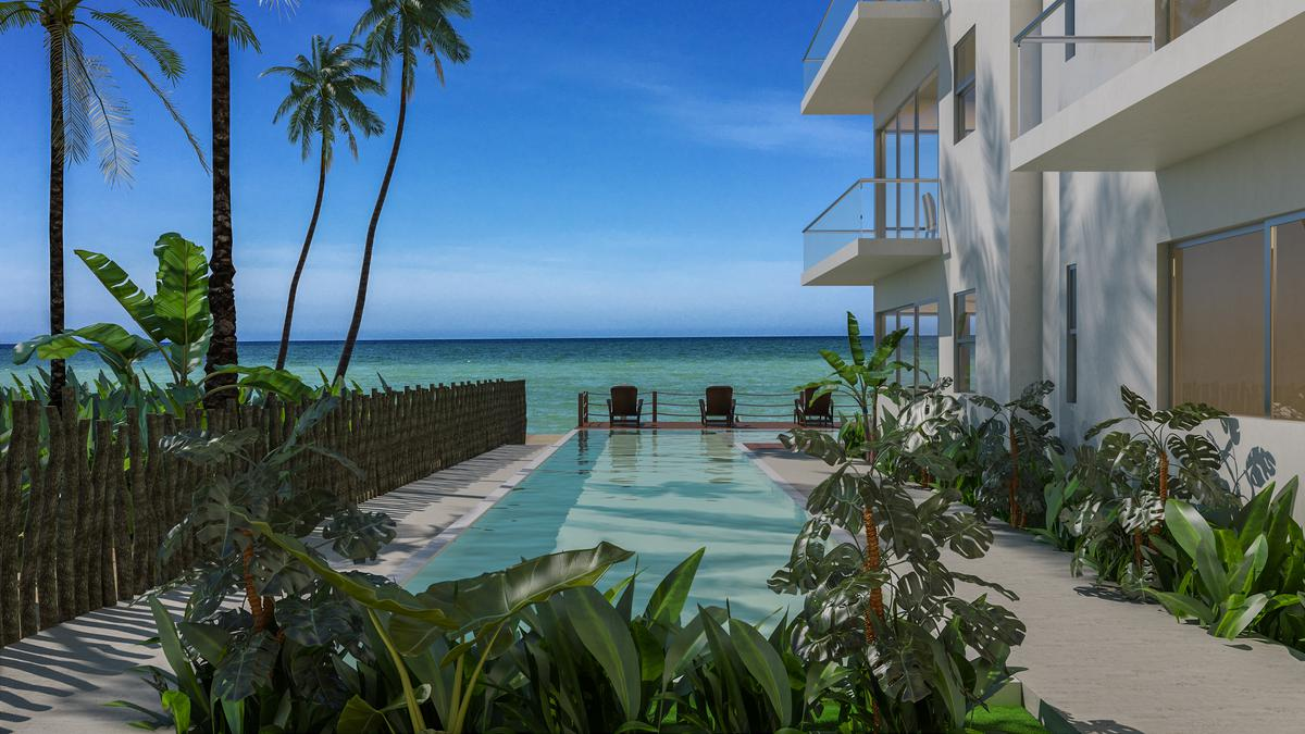 Foto Edificio en Telchac Puerto Brown Luxury Beach Condos número 6