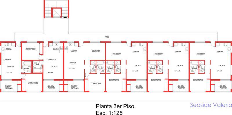 Foto Edificio en Valeria Del Mar Av. Costanera Alte. G. Brown  número 8