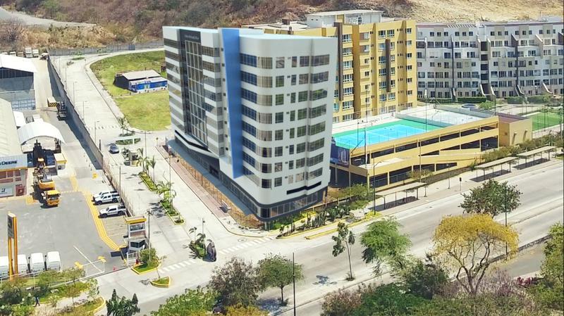 Foto Edificio de oficinas en Norte de Guayaquil Km. 7 de la Avenida del Bombero número 4