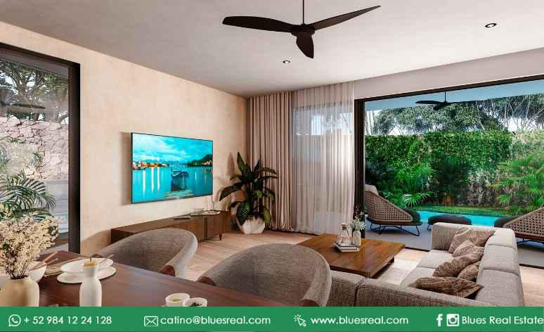 Unit picture Apartment in Sale in  Solidaridad ,  Quintana Roo  NEW Condo in Tulum at high Line Serenity | Blues Real | Code 645