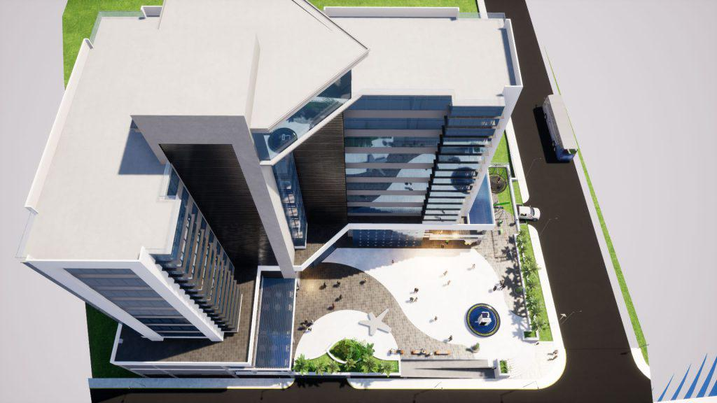 Foto Edificio de oficinas en America XCALA, Edicio Comercial y de Oficinas número 4