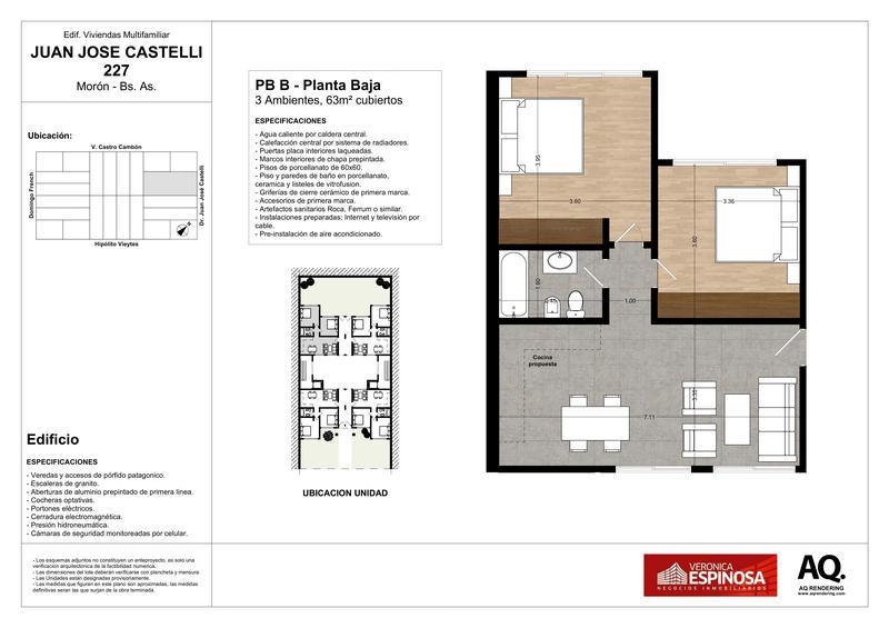 Foto Edificio en Moron Sur Castelli 200 número 23