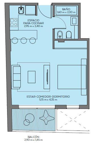 Foto Edificio en Villa Crespo Av. Dorrego 960 número 6