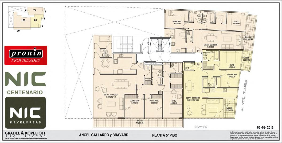 Foto Edificio en P.Centenario             Av Angel Gallardo y Bravard           número 12