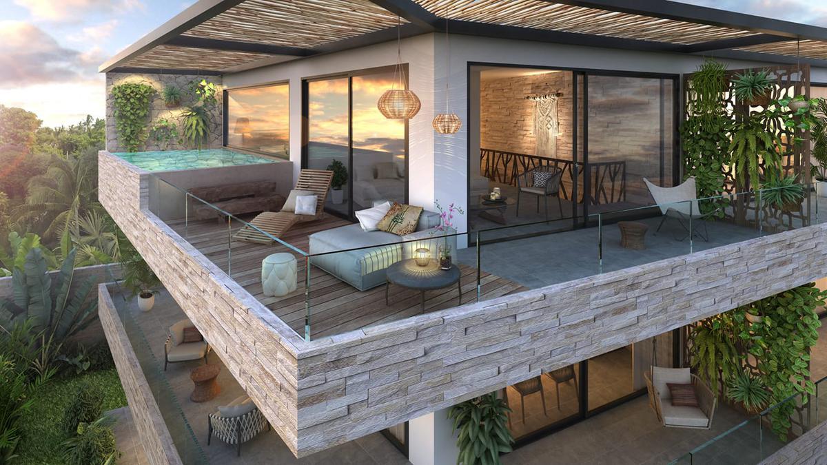 Foto Condominio en Ejido Tulum nuevo condominio de lujo con entrega inmediata número 3
