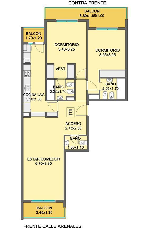 Foto Edificio en Chauvin Arenales 2861 número 8