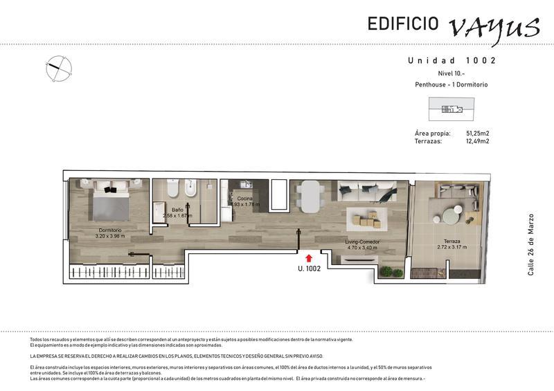 Foto Edificio en Pocitos 26 de marzo y Luis A. de Herrera número 16