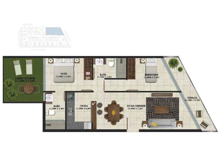 Foto Edificio en Pocitos Bustamante - Puertito del Buceo número 7