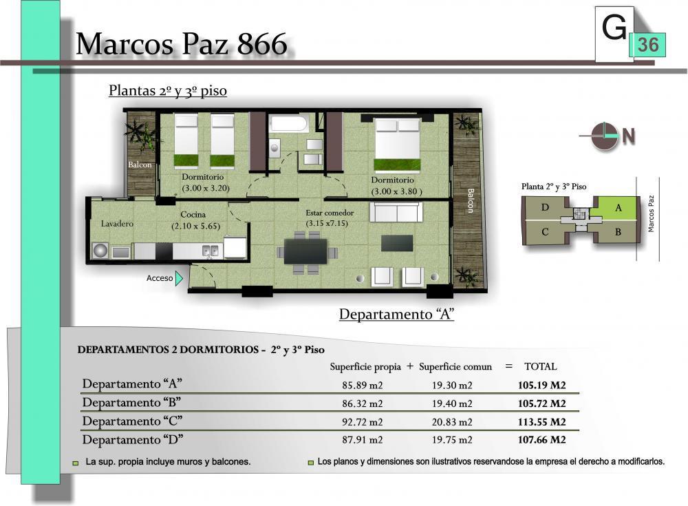 Foto Edificio en San Miguel De Tucumán MARCOS PAZ 886 número 8