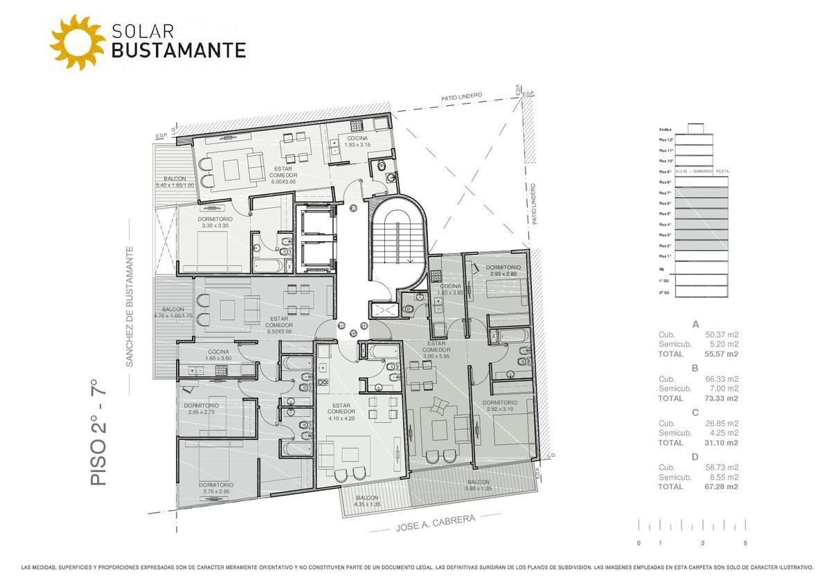 Foto Edificio en Palermo J. A. Cabrera y S. de Bustamante número 7