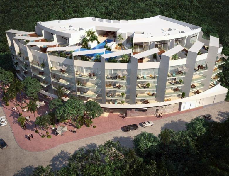 Foto Edificio en Playa del Carmen Centro AV. 38, esquina Calle Flamingo.  número 5