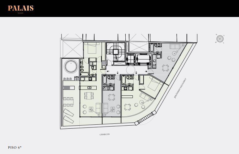 Emprendimiento Palais: Salguero 1804 en Palermo