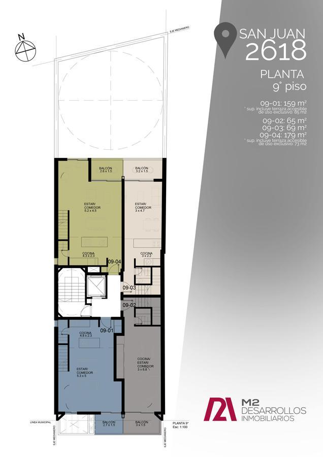 Foto Edificio en Macrocentro San Juan 2618 número 11
