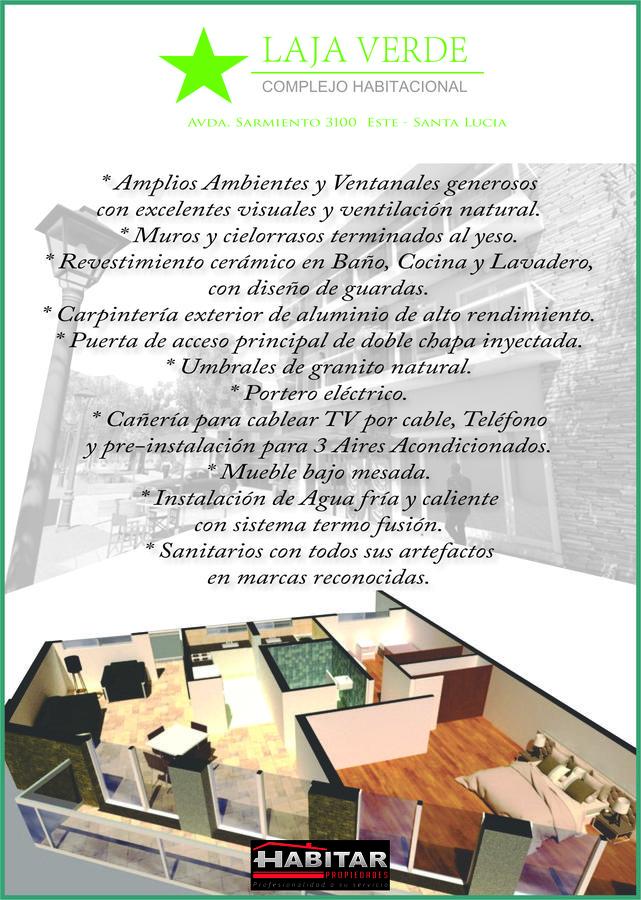 Foto Edificio en Santa Lucia Avda. Sarmiento 3100 Este santa Lucia número 13