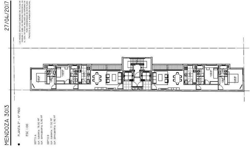 Foto Edificio en Belgrano R Mendoza 3000 número 3
