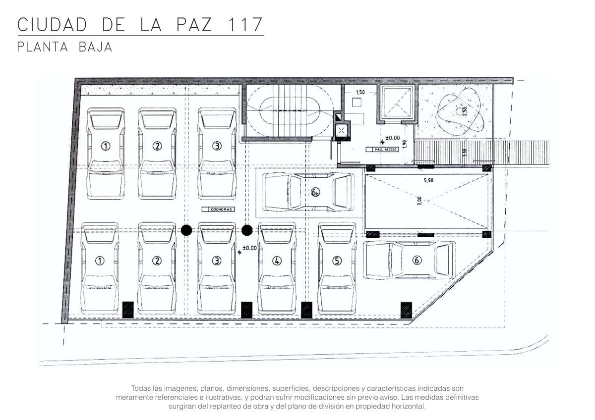 Foto Edificio en Palermo Ciudad de la Paz entre Santos Dumont y Cocepción Arenal numero 5